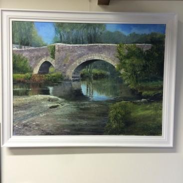 Bridge on the moor (Dartmoor)