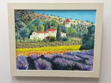 Tuscany Lavender Fields