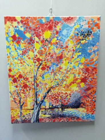 Woodland Splendour ( Abstract Realism)