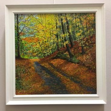 Autumn Lane in Michigan