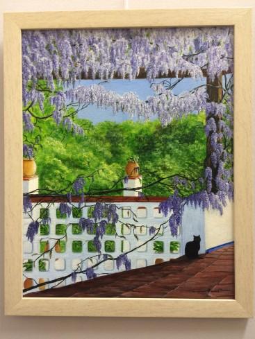 wisteria Balcony