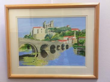 City bridge in Tuscany