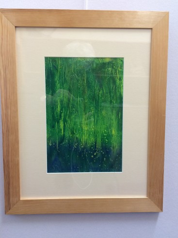 Whispering Grass (Abstract Realism)