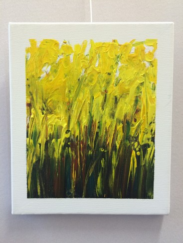 Yellow fields (Abstract Realism)