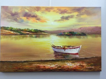 Rowing Boat at rest