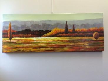 Tuscany Autumn vista