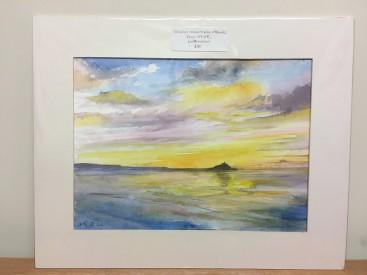 Sunrise Mounts Bay Cornwall