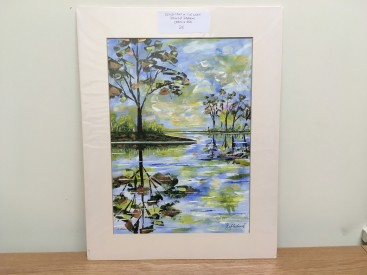 Reflections in the Lake (Abstract Realism)