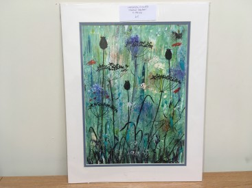 Hedgerow Flowers(Abstract Realism)