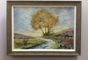 Tree by the beck (Yorkshire )