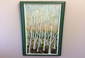 Silver Birches (Abvstract Realism)