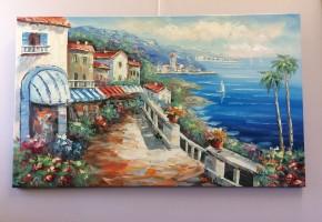 Seaside Courtyard on the Amalfi coast