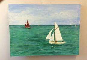 Sailing Gaffer Sailboats