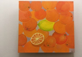 Lemon Squash (Abstract Realism)